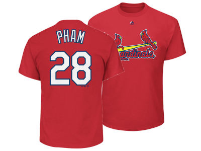 St. Louis Cardinals Tommy Pham Majestic MLB Men's Official Player T-Shirt
