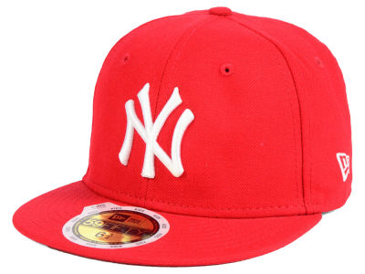 New York Yankees New Era MLB Youth Basic Pop 59FIFTY Cap