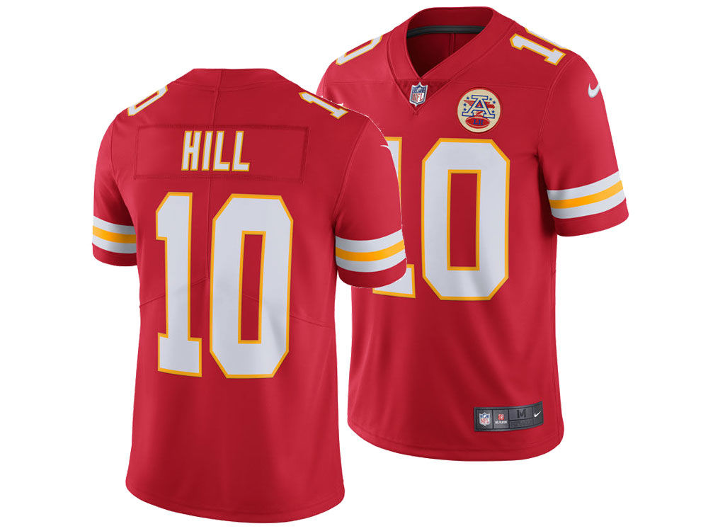 Kansas City Chiefs Tyreek Hill Nike NFL Men s Vapor Untouchable Limited  Jersey  41e48fd85