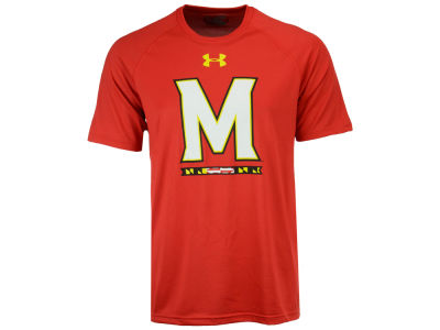 Maryland Terrapins Under Armour NCAA Men's 2-Hit Tech T-Shirt