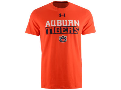 Auburn Tigers Under Armour NCAA Men's Lead Block Charged T-Shirt