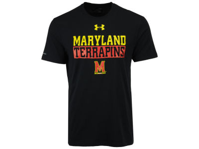 Maryland Terrapins Under Armour NCAA Men's Lead Block Charged T-Shirt