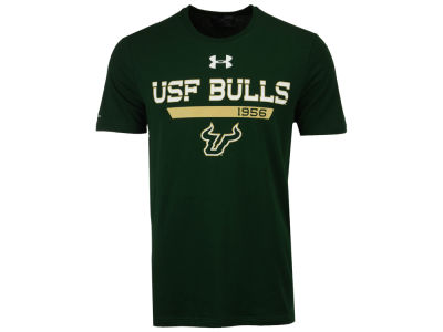 South Florida Bulls Under Armour NCAA Men's Lead Block Charged T-Shirt
