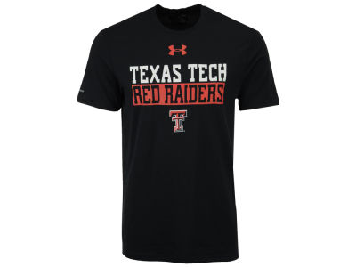 Texas Tech Red Raiders Under Armour NCAA Men's Lead Block Charged T-Shirt