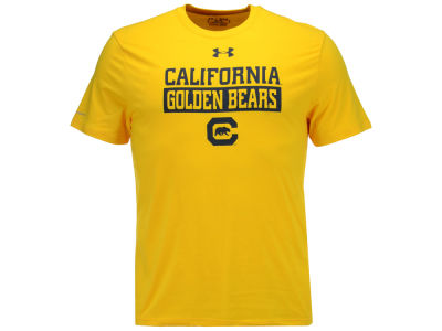 California Golden Bears Under Armour NCAA Men's Lead Block Charged T-Shirt