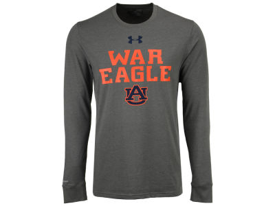 Auburn Tigers Under Armour NCAA Men's College Classic Charged Cotton Long Sleeve T-Shirt