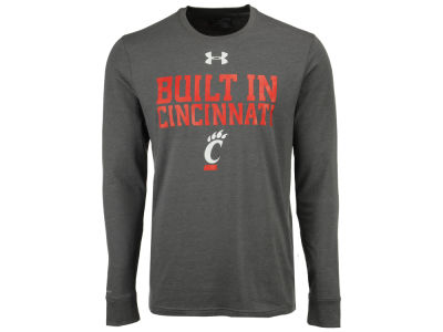 Cincinnati Bearcats Under Armour NCAA Men's College Classic Charged Cotton Long Sleeve T-Shirt