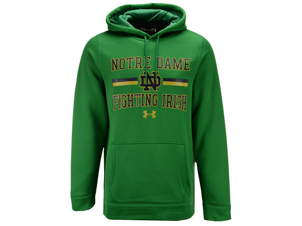 0ec76294b Notre Dame Fighting Irish Under Armour NCAA Men s Speedy Armour Fleece  Hoodie