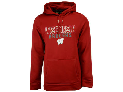 Wisconsin Badgers Under Armour NCAA Men's Speedy Armour Fleece Hoodie
