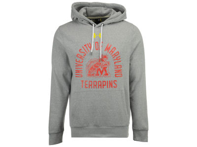 Maryland Terrapins Under Armour NCAA Men's Vintage Arch Tri-blend Hoodie
