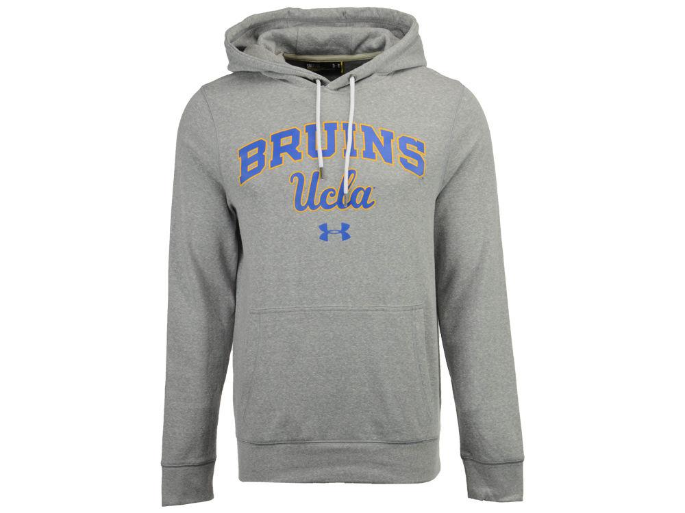 UCLA Bruins Under Armour NCAA Men s Vintage Arch Tri-blend Hoodie ... 38568d81bef3