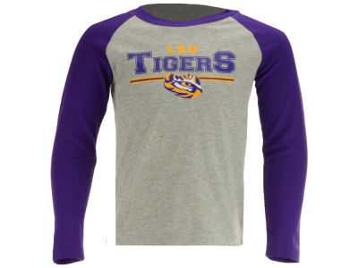 LSU Tigers Outerstuff NCAA Toddler Field Line Long Sleeve T-Shirt