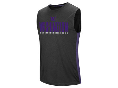 Washington Huskies Colosseum NCAA Men's Hanging Curveball Tank