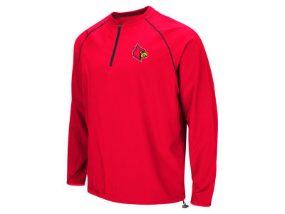 Louisville Cardinals Colosseum NCAA Men's The Bigs Quarter Zip Pullover