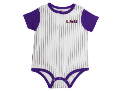 LSU Tigers Colosseum NCAA Newborn Baseball Creeper