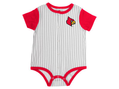 Louisville Cardinals Colosseum NCAA Newborn Baseball Creeper