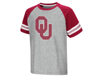 Oklahoma Sooners Colosseum NCAA Youth Bertram Raglan T-Shirt