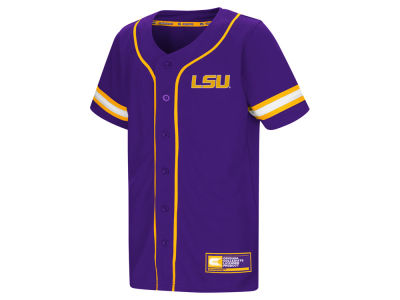 LSU Tigers Colosseum NCAA Youth Play Ball Baseball Jersey