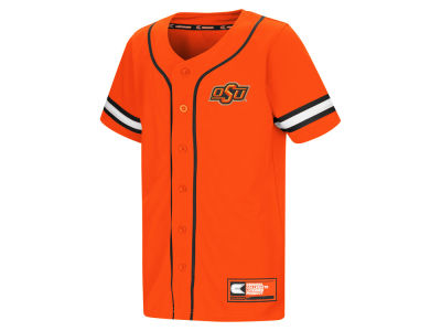 Oklahoma State Cowboys Colosseum NCAA Youth Play Ball Baseball Jersey