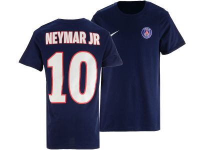 Paris Saint-Germain Neymar  Nike Youth Club Team Home Name and Number T-shirt