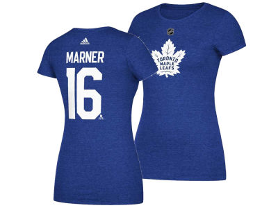 Toronto Maple Leafs Mitch Marner adidas 2017 NHL Women's Player T-Shirt