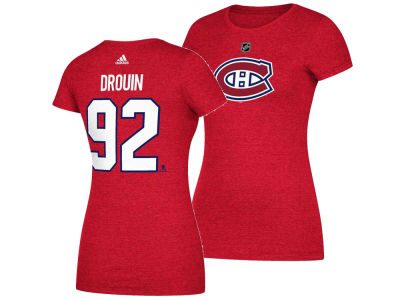 Montreal Canadiens Jonathan Drouin adidas 2017 NHL Women's Player T-Shirt
