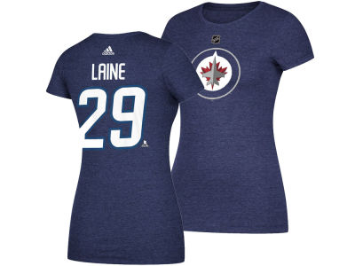 Winnipeg Jets Patrik Laine adidas 2017 NHL Women's Player T-Shirt