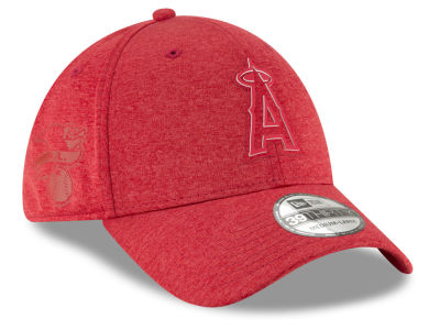 Los Angeles Angels New Era 2018 MLB Clubhouse 39THIRTY Cap