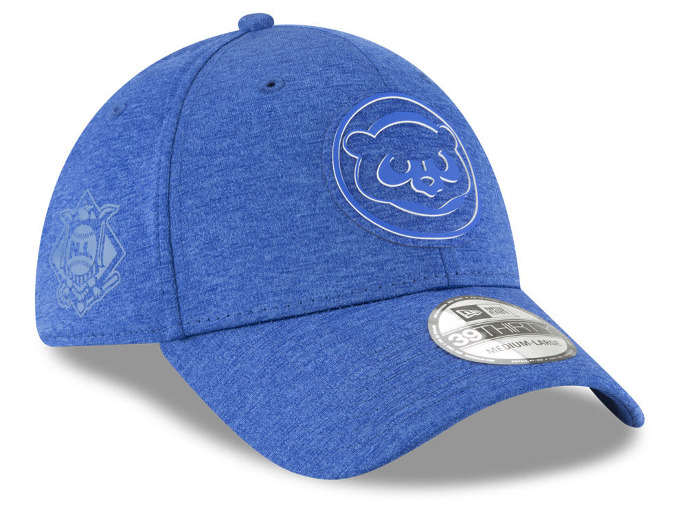 Chicago Cubs New Era 2018 MLB Clubhouse 39THIRTY Cap  a810af599a9