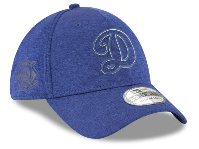 Los Angeles Dodgers New Era 2018 MLB Clubhouse 39THIRTY Cap
