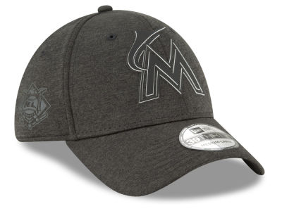 Miami Marlins New Era 2018 MLB Clubhouse 39THIRTY Cap