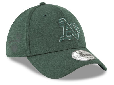 Oakland Athletics New Era 2018 MLB Clubhouse 39THIRTY Cap