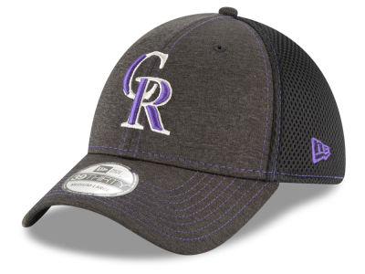 Colorado Rockies New Era MLB Shade Classic Neo 39THIRTY Cap