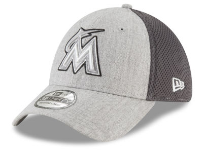 Miami Marlins New Era MLB Heather Pop Neo 39THIRTY Cap
