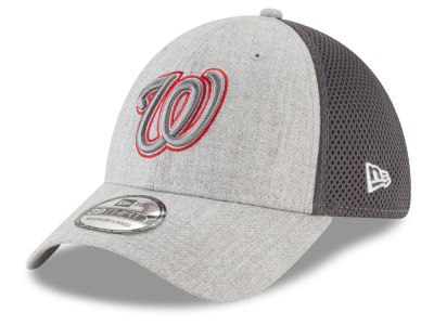 Washington Nationals New Era MLB Heather Pop Neo 39THIRTY Cap