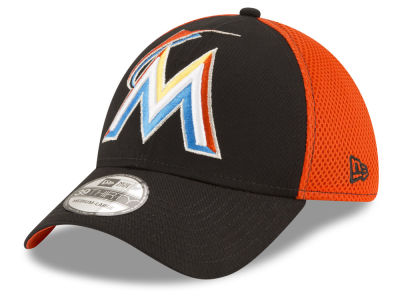 Miami Marlins New Era MLB Mega Team 39THIRTY Cap