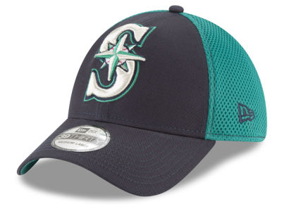 Seattle Mariners New Era MLB Mega Team 39THIRTY Cap