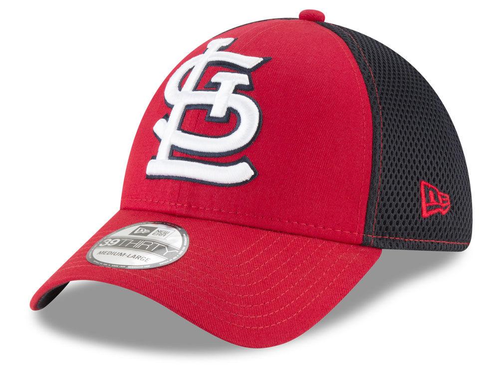 St. Louis Cardinals New Era MLB Mega Team 39THIRTY Cap  0235c488e06