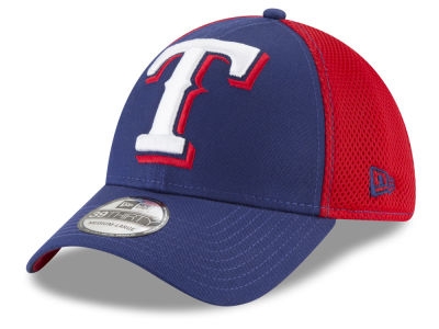 Texas Rangers New Era MLB Mega Team 39THIRTY Cap