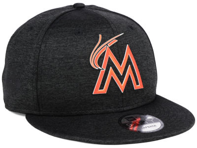 Miami Marlins New Era MLB Clubhouse Jersey Pop 9FIFTY Snapback Cap