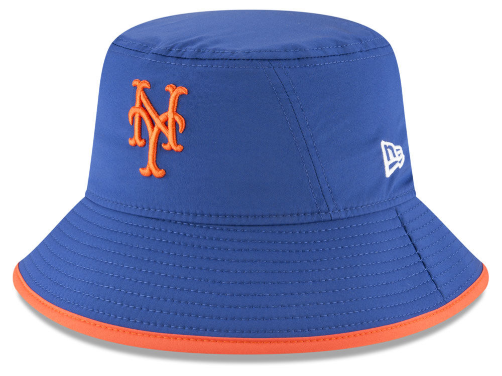 New York Mets New Era 2018 MLB Clubhouse Bucket  e091d1d2981