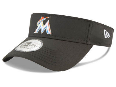 Miami Marlins New Era MLB Clubhouse Visor