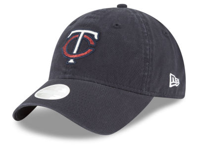Minnesota Twins New Era MLB Women's Team Glisten 9TWENTY Cap
