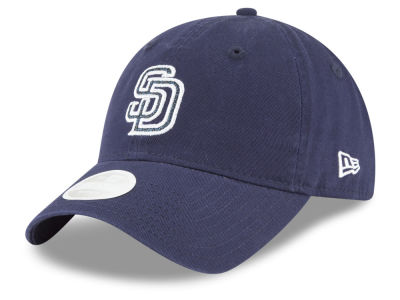 San Diego Padres New Era MLB Women's Team Glisten 9TWENTY Cap