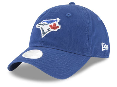 Toronto Blue Jays New Era MLB Women's Team Glisten 9TWENTY Cap