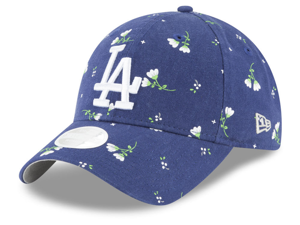 ... italy los angeles dodgers new era mlb womens blossom 9twenty cap 7fa55  606a9 ... 1fca9914880b