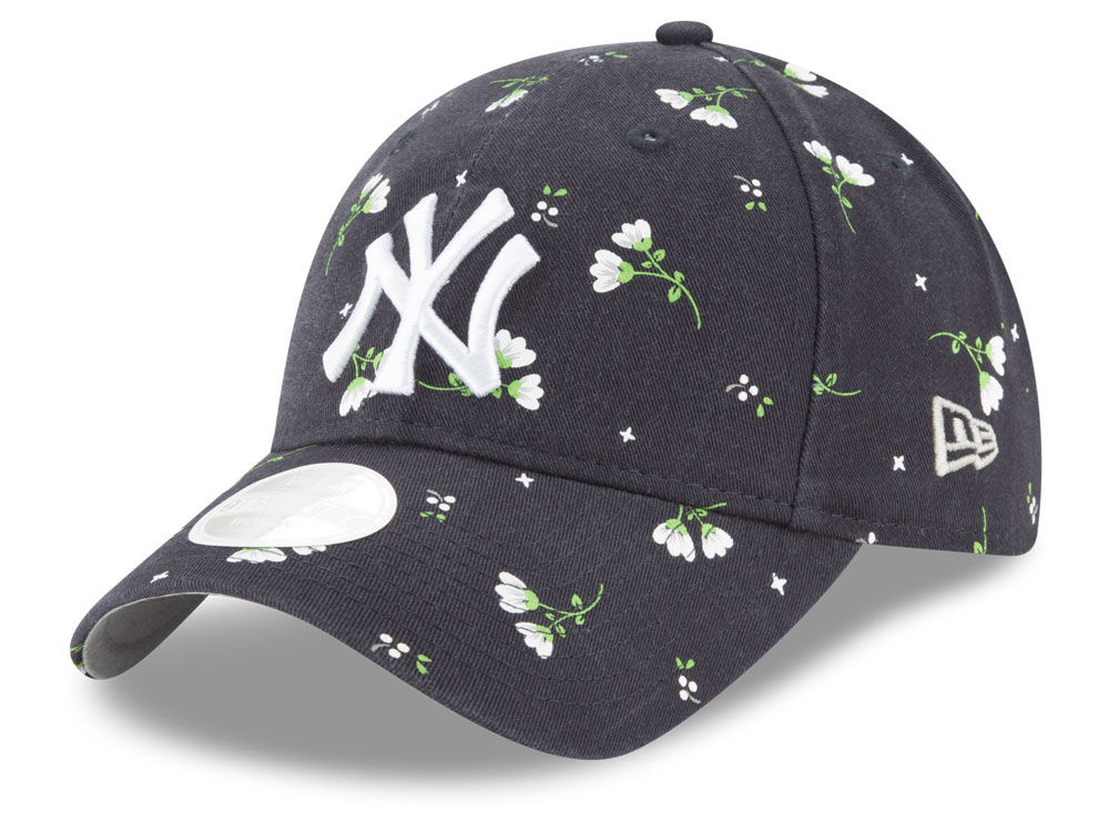 New York Yankees New Era MLB Women s Blossom 9TWENTY Cap  64d53c7fd