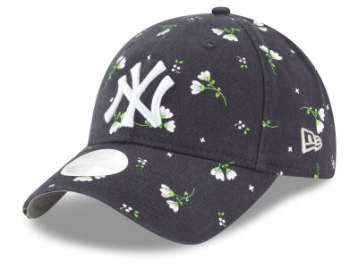 New York Yankees New Era MLB Women's Blossom 9TWENTY Cap