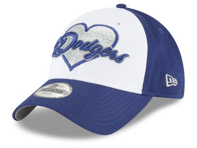 Los Angeles Dodgers New Era MLB Youth Sparkly Fan 9TWENTY Cap