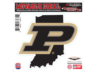 Purdue Boilermakers Stockdale State Decal